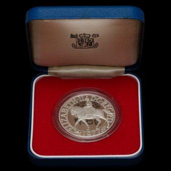 1977 Sterling Silver Proof Silver Jubilee Crown