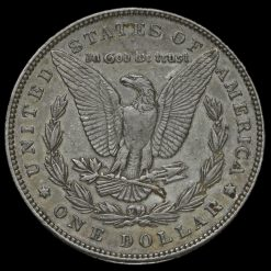 1891 USA Silver Morgan Dollar Reverse
