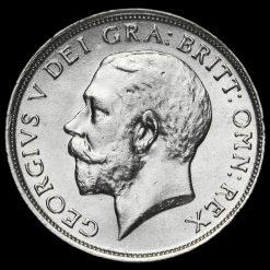1917 George V Silver Shilling Obverse