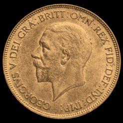1929 George V Penny Obverse