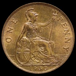 1930 George V Penny Reverse