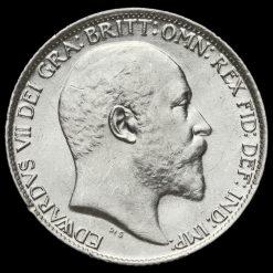 1910 Edward VII Silver Sixpence Obverse