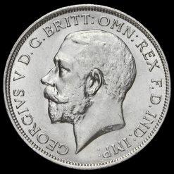 1916 George V Silver Florin Obverse