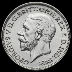 1932 George V Silver Sixpence Obverse