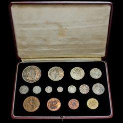 1937 George VI Specimen Proof 15 Coin Set