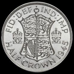 1945 George VI Silver Half Crown Reverse