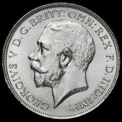 1915 George V Silver Florin Obverse