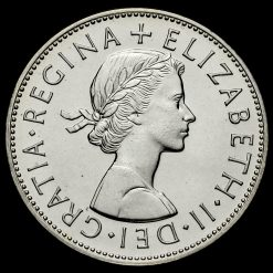 1970 Elizabeth II Proof Half Crown Obverse