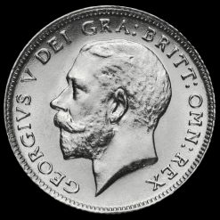 1912 George V Silver Sixpence Obverse