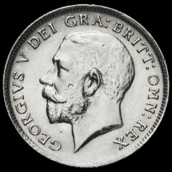 1913 George V Silver Sixpence Obverse
