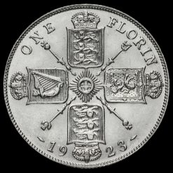 1923 George V Silver Florin Reverse
