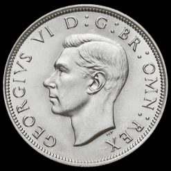 1940 George VI Silver Half Crown Obverse