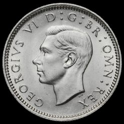 1941 George VI Silver Sixpence Obverse
