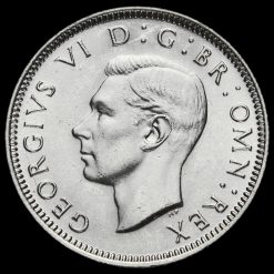 1946 George VI Silver English Shilling Obverse