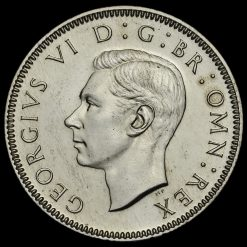 1950 George VI Proof English Shilling Obverse