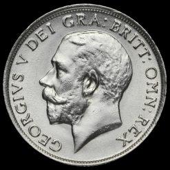 1918 George V Silver Shilling Obverse