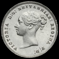 1886 Queen Victoria Silver Maundy Fourpence Obverse