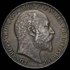 1902 Edward VII Silver Crown Obverse