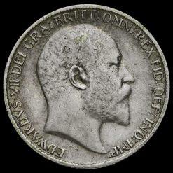 1904 Edward VII Silver Sixpence Obverse