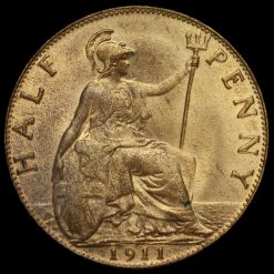 1911 George V Halfpenny Reverse