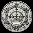 1927 George V Silver Proof Wreath Crown Reverse