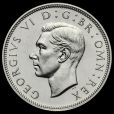 1937 George VI Silver Proof Half Crown Obverse