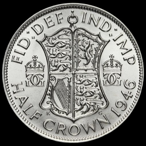 1946 George VI Silver Half Crown Reverse