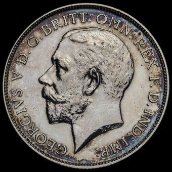 1911 George V Silver Proof Florin Obverse