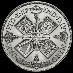 1930 George V Silver Florin Reverse