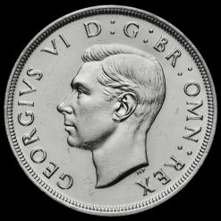 1937 George VI Coronation Silver Crown Obverse