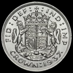 1937 George VI Coronation Silver Crown Reverse