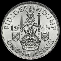 1945 George VI Silver Scottish Shilling Reverse