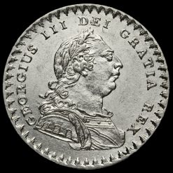 1811 George III Silver Eighteenpence Bank Token Obverse