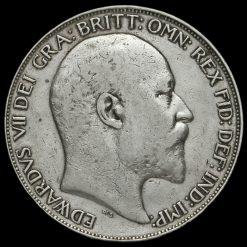 1902 Edward VII Silver Crown Obverse