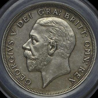 1930 George V Silver Wreath Crown Obverse
