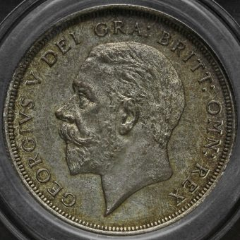 1932 George V Silver Wreath Crown Obverse