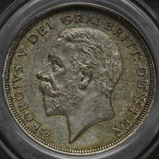 1932 George V Silver Wreath Crown Obverse