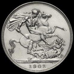 1902 Edward VII Silver Crown Reverse