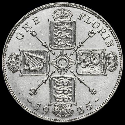 1925 George V Silver Florin Reverse