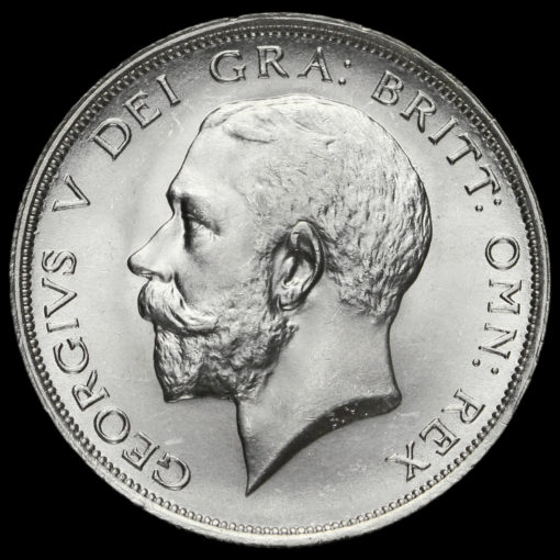 1919 George V Silver Half Crown