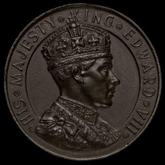 1937 Edward VIII Bronze Medal Obverse