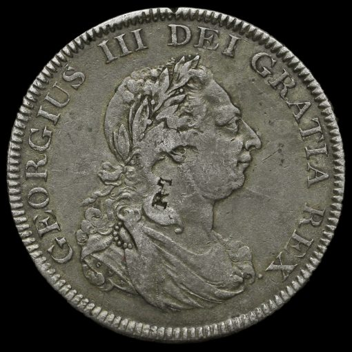 1804 George III Bank of England Issue Silver Dollar Obverse