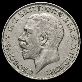 1926 George V Silver Florin Obverse