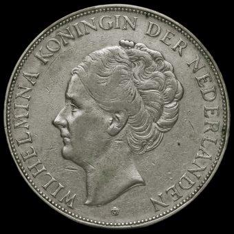 Netherlands 1932 2 1/2 Gulden Obverse
