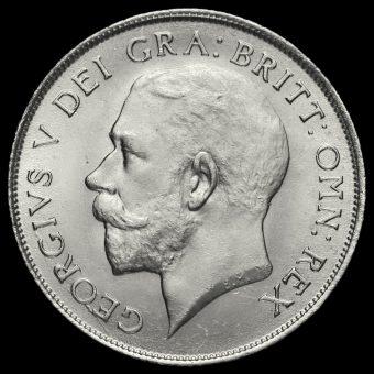 1922 George V Silver Shilling Obverse