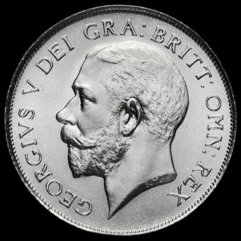 1923 George V Silver Shilling Obverse