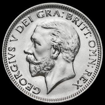 1931 George V Silver Shilling Obverse