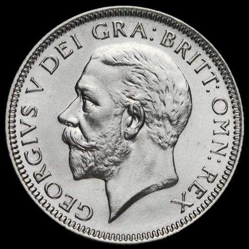 1933 George V Silver Shilling Obverse