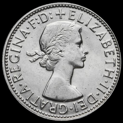 Australia 1963 Elizabeth II Silver Florin Obverse