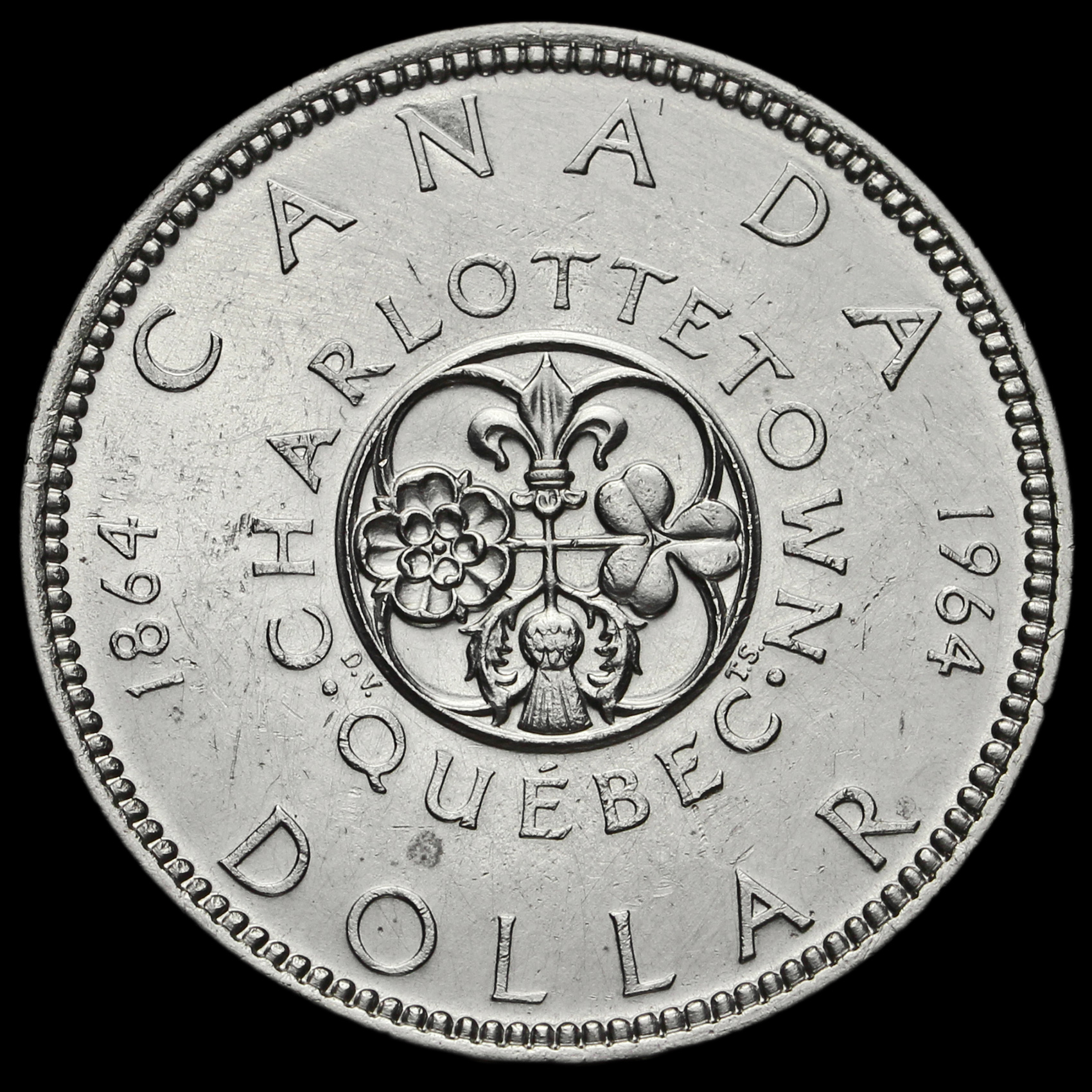 what is a 1964 canadian silver dollar worth